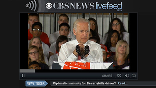 CBS News Livefeed: Watch LIVE CBS Video Online