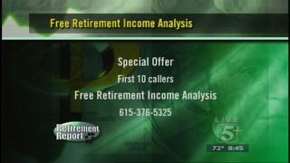 Retirement Report: Friday, October 9, 2015 Pt. 4