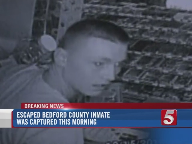 Bedford County Escapee In Custody