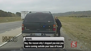 Questionable Traffic Stop Caught On Camera