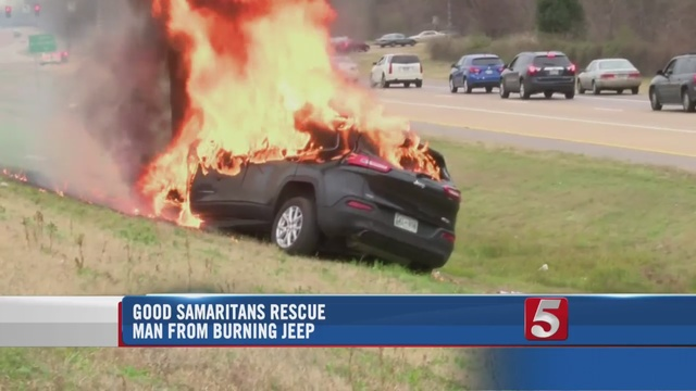 Bible Withstands Flames From Memphis Car Fire