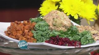 Recipe #5520 Cafe Lula Smoked Salmon Salad