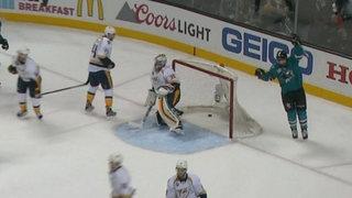 Sharks Beat Predators 5-1 In Game 5