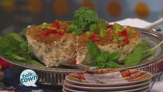 Miss Daisy's Blue Cheese Crab Cheesecake