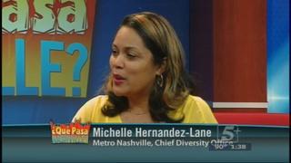 Que Pasa Nashville: Michelle Hernandez-Lane