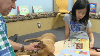 READing Paws Program Helps Kids Learn To Read