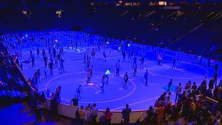 Preds Host Glow In The Dark Skate Event