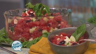 Miss Daisy's Watermelon, Feta & Cucumber Salad