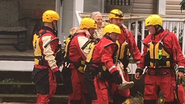 4 Rescued From Sumner County Flooding