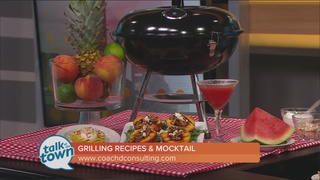 Grilled Appetizer, Dessert & Mocktail Recipe