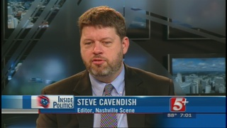Inside Politics: Steve Cavendish