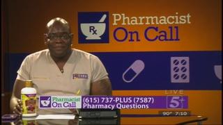 Pharmacist on Call: August 2016