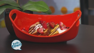 The Stiletto Chef: Grilled Strawberry Pound Cake
