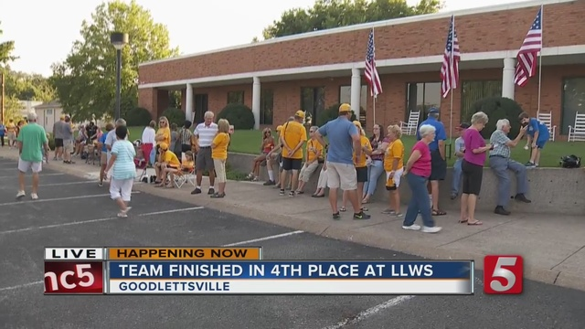 Little League Team Welcomed Home In Goodlettsville                      WTVF