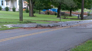 Crews Called To East Nashville Water Main Break