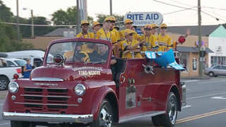 All Stars Welcomed Home With Parade
