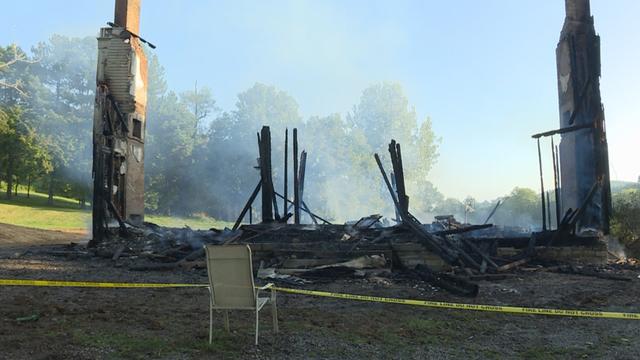Fire Destroys Historic Home In Williamson County