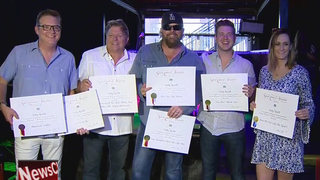 Toby Keith Honored At Million Plays Party