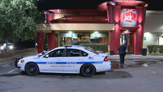 Worker Runs To Get Help During Fast-Food Robbery