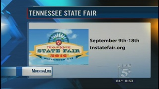 MorningLine: Tennessee State Fair