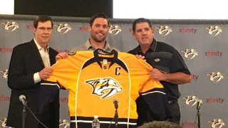 Predators Name Mike Fisher Captain