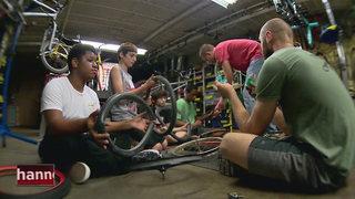 Celebrate Tennessee: Oasis Center Bike Workshop