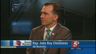 Inside Politics: Rep. John Ray Clemmons