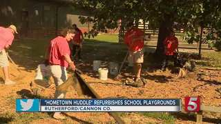 Local Playgrounds Benefit From 'Hometown Huddle'