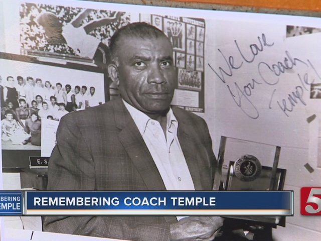 Nashville Remembers Coach Ed Temple; Turns Blue In His Honor