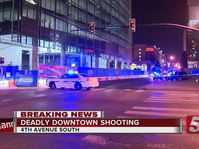 Cali. Man Shot, Killed In Downtown Nashville