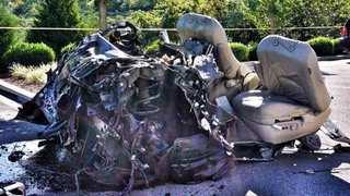Driver Injured In Violent Crash Near I-65