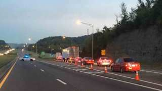 I-24W Reopens Near OHB After Motorcycle Crash