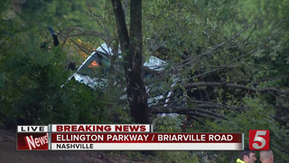 Driver Killed In Crash On Ellington Parkway