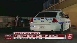Man Uses Van In Attempt To Stop Robbery Suspects