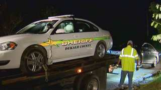 High-Speed Chase Ends Outside Wilson Co. Home