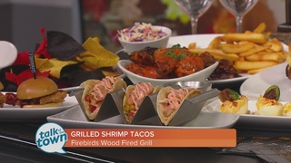 Firebirds Woodfired Grill's Grilled Shrimp Tacos