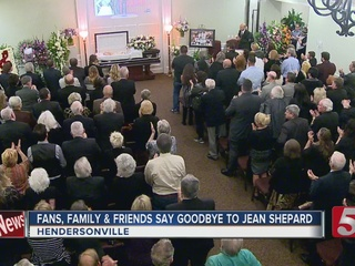 Jean Shepard Remembered At Service