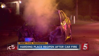 Harding Place Reopened After Crash, Downed Lines
