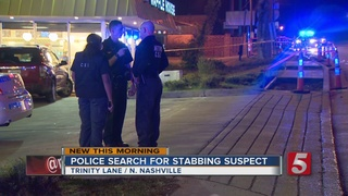 Suspect Sought, Man Stabbed On Trinity Lane