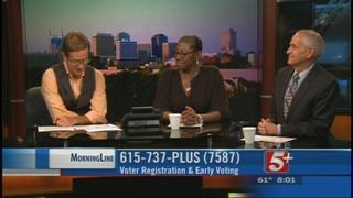 MorningLine: Voter Registration & Early Voting