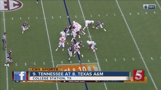 No. 8 A&M Earns 45-38 Win Over Tennessee