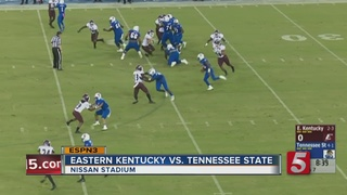 TSU Holds On To Beat Eastern Kentucky 35-28