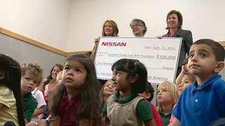 School Patrol: Casa Azafran Receives Donation