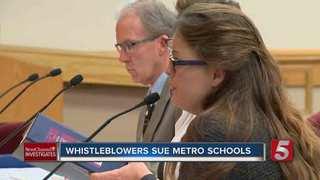 Whistleblowers Sue MNPS, Claim Retaliation