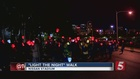 'Light The Night' Walk Held At Nissan Stadium