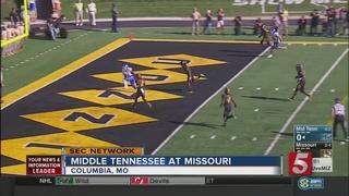 Middle Tennessee Edges Missouri 51-45