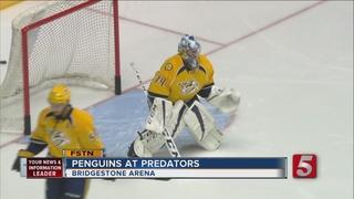 Predators Beat Penguins 5-1