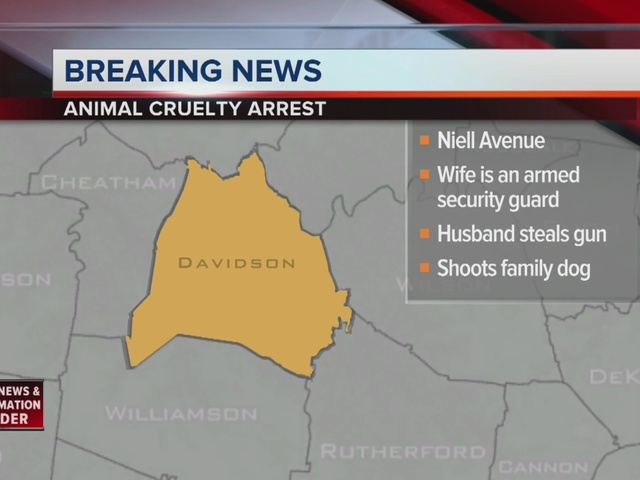Man Charged With Animal Cruelty In Dog's Death