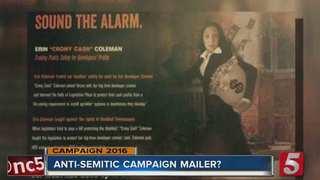 "Campaign Mailer Criticized As ""Anti-Semitic"""