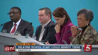 School Start Times Discussed By MNPS Board
